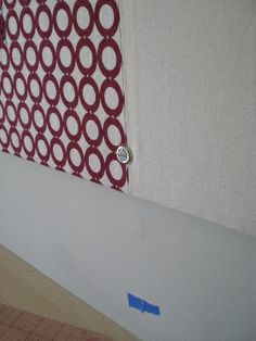 attach to the wall by shiso mama, via Flickr