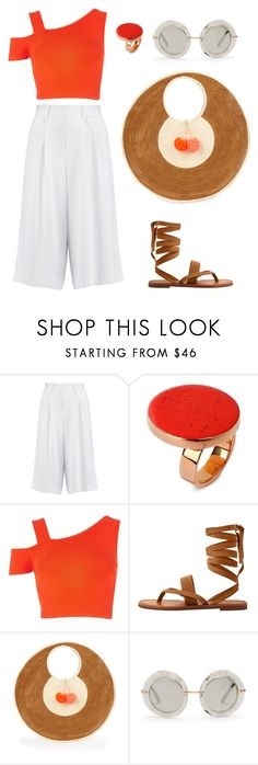 """""""Street Style"""" by kamela25 ❤ liked on Polyvore featuring Alice + Olivia, STELLA McCARTNEY, River Island, MANGO, Sophie Anderson and Dolce&Gabbana"""