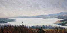 Gray Skies Over the Hudson (Olana) by Takeyce Walter