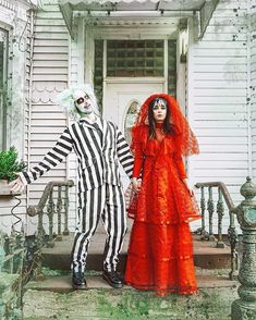 Celebrity Couple Costumes, Disney Couple Costumes, Unique Couple Halloween Costumes, Best Couples Costumes, Celebrity Halloween Costumes, Hallowen Costume, Halloween Kostüm, Family Halloween, Disney Couples