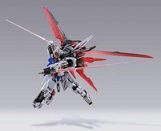 METAL BUILD Aile Strike Gundam - Release Info - Gundam Kits Collection News and Reviews Arte Gundam, Gundam 00, Gundam Exia, Gundam Astray, Gunpla Custom, Custom Gundam, Cyberpunk, Cyber Ninja, Gundam Toys