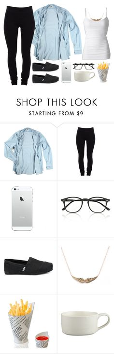 """""""ignore please."""" by daisym0nste ❤ liked on Polyvore featuring Acne Studios, Helmut Lang, Illesteva, TOMS and Crate and Barrel"""