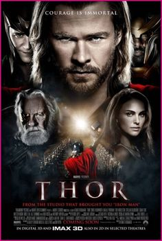 I kinda of love the hell out of this movie.  I love blustery arrogant Thor. I love fish out of water Thor. I love ass kicking Thor. And I love adorkable Thor the most Though worthy of the throne Thor is nice too. Yeah, I'll say it. He's my favorite movie Avenger. Which is why I'll never read the comics. That goofy winged helmet... I can't deal with it.