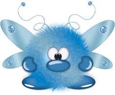●•‿✿⁀Monster Mash‿✿⁀•●..cute little Monster Bug to me