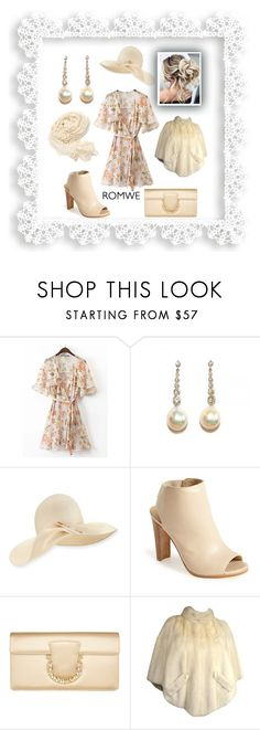 """""""three times a lady"""" by caroline-buster-brown ❤ liked on Polyvore featuring Eugenia Kim, Stuart Weitzman and Salvatore Ferragamo"""