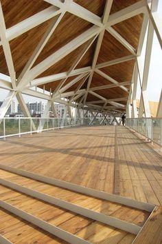 Pedestrian Bridge in China by CA Design in architecture  Category