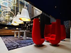 Andaz Amsterdam Prinsengracht designed by Marcel Wanders.