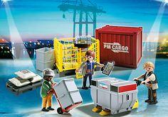Cargo-Team mit Ladegut - PM Germany PLAYMOBIL® Deutschland