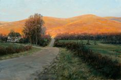portfolio of the oil landscape paintings and prints of artist John MacDonald of the Berkshires in Williamstown Massachusetts. Winter Landscape, Landscape Art, Landscape Paintings, Oil Paintings, John Mcdonald, Animation, Plein Air, Concept Art, Landscaping