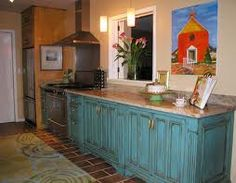 21 Best Turquoise Kitchen Cabinets images | Turquoise ...