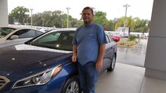 """Donald Savoie seems very pleased with his purchase of a 2016 Hyundai Sonata! After reviewing his overall car purchase at Lakeland Automall with salesman Mo Gafur, he rated the entire experience as """"exceptional""""! """"Mo gave me the best deal out of all of the dealers. Thanks, Mo!"""" Thank YOU, Donald. We love hearing about our happy customers! If there's anything we can do, don't hesitate to ask… We're here to help! #LakelandHyundai #HyundaiSonata #Hyundai"""