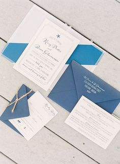 @puddlejumpincards custom invitation featured on Brides: Virgin Islands Real Wedding Photos: An Intimate Destination Wedding on a Private Beach in St. Thomas