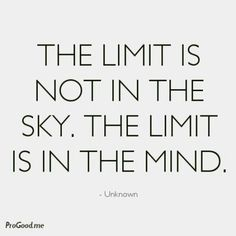 The Limit Is ...