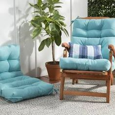 Andover Mills Sarver Indoor/Outdoor Seat/Back Cushion Rocking Chair Cushions, Outdoor Lounge Chair Cushions, Low Beach Chairs, Custom Outdoor Cushions, Outdoor Fabric, Dining Chair Pads, Dining Chairs, Coffee Chairs, Office Waiting Room Chairs