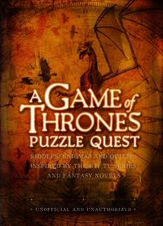 Game of Thrones Puzzle Quest will whirl you across Westeros and beyond on a stunning voyage through the glorious realm so beautifully portrayed in the television series and so vividly described in the novels. Within the pages of this book, you'll come across deadly enemies, uncertain allies, even perhaps a trustworthy friend or two, all gathered into some of the most gripping puzzles yet devised. £14.99