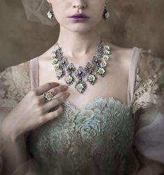 C'est la Vie dress and jewels