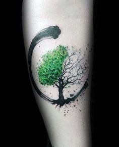 Green And Black Paint Brush Stroke Guys Amazing Tree Of Life Forearm Tattoos tat .Green And Black Paint Brush Stroke Guys Amazing Tree Of Life Forearm Tattoos tattoos for women - Tattoos - AMAZING Black Diy Tattoo, Tattoo Life, Tree Of Life Tattoos, Tattoo Shop, Tattoo Art, Nature Tattoos, Body Art Tattoos, New Tattoos, Tatoos