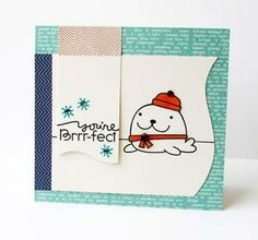 Paper Smooches Clear Stamps, Chilly Chums