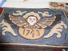Back to Larkrise: Primitive Rughooking special exhibit at the San Diego Quilt…