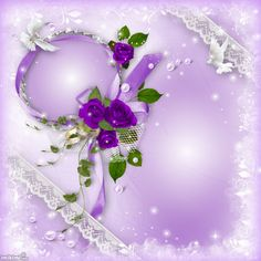 Our Wedding Day Purple Backgrounds, Wedding Frames, Our Wedding Day, Floral Wreath, Sweet Hearts, Colours, Wreaths, Pink, Beautiful