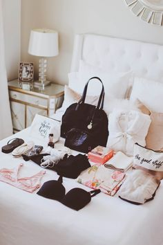 What's In My Hospital Bag & Bravado Nursing Bra Giveaway | BondGirlGlam.com #ad