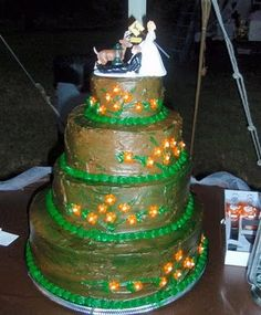 """I didn't realize they made cakes for """"shooting your husband so you can run off with a deer."""""""
