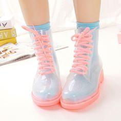 cute fashion shoes kawaii Clothes Boots Korean fashion Japanese ...