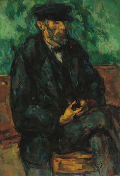 Paul Cézanne - The Gardener Vallier