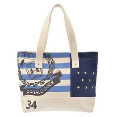 Donald Duck Canvas Tote Bag