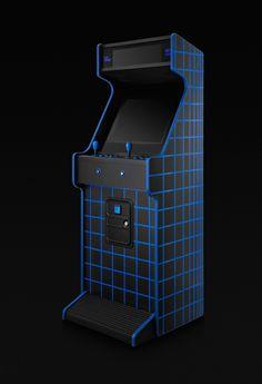 Factory Arcade — Blue Dream on Branding Served