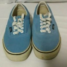 cf3135fc04 Sky Blue Suede Vans Classic Sizes Men s 6.5 Women s 8  fashion  clothing   shoes