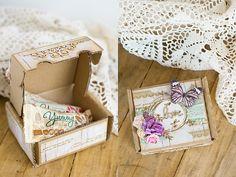 Scrapowe pudełeczka