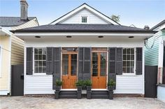 New Orleans, 2 shotgun homes into 1! Really well done!!