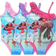 Cheap girl children, Buy Quality girl girl directly from China dress girl Suppliers: Girls Swiming Moana dress Trolls Olaf Bikini Swimsuit Kids Ruffled Swimming Suit Girl Children Bathing Suit Maillot De Bain