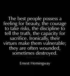 Ernest Hemingway #selfawareness