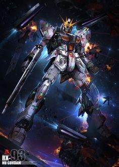 Gundam Digital Art works Part 1 - Gundam Kits Collection News and Reviews
