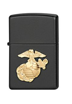 MRC Black Military Crest Zippo Lighter ! Buy Now at gorillasurplus.com