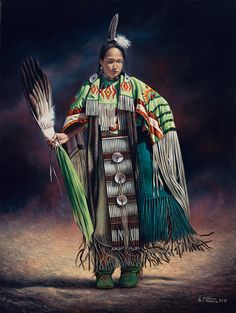 Native-american Painting - Ceremonial Rhythm by Ricardo Chavez-Mendez
