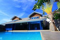 Pratumnak Dream Villa 4 Bedroom Villa with a modern tropical design and huge private pool. Modern Tropical, Tropical Design, Vacation Apartments, Vacation Villas, Pattaya, Private Pool, Property Management, Sunnies, Thailand