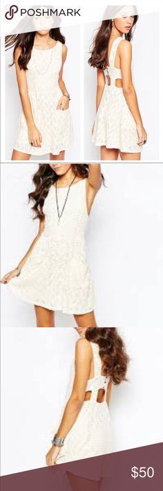Free people lace poppy dress NWT  Free people lace poppy dress  Color :tea Free People Dresses