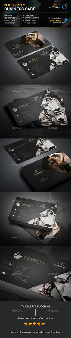 Photography Business Card …