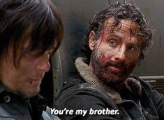 Daryl and Rick. The Walking Dead Season 4 Daryl Dixon Walking Dead, Walking Dead Season 4, Fear The Walking Dead, Best Tv Shows, Best Shows Ever, Saga, Daryl And Rick, Devious Maids, Hemlock Grove