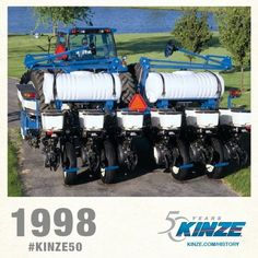 1998 KINZE Planter