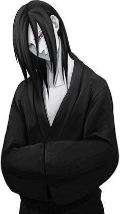 "Orochimaru (大蛇丸, Orochimaru) As one of the most powerful ninja Konohagakure ever produced and one of the ""Three Legendary Shinobi"" (伝説の三忍, Densetsu no Sannin), he operated as an ANBU shinobi within the Root faction prior to his defection from the village. Sealed away during the battle between Sasuke and Itachi, he was later revived using his genetic material that was within Kabuto and the portion of consciousness he stored within Anko Mitarashi's Cursed Seal of Heaven."