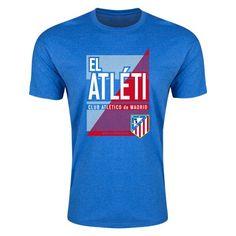 Atletico Madrid El Atleti Mens Fashion T-Shirt