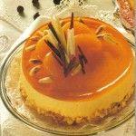 Ανάλαφρο cheesecake με ζελέ πορτοκαλιού Greek Sweets, Greek Desserts, Greek Recipes, Jello Recipes, Sweets Recipes, Cake Recipes, Homemade Pie, My Best Recipe, How Sweet Eats