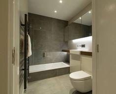 Bad verzonken in vloer = lage instap voor douche