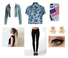 First Date #4 by seyi-shobajo on Polyvore featuring Topshop, Wet Seal, G-Star and Chanel