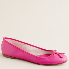 Addicted to ballet flats... and this color is adorable. These don't look like they should cost $125 though.