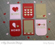 Tag Builder Blueprints 3 Die-namics - Amy Rysavy #mftstamps